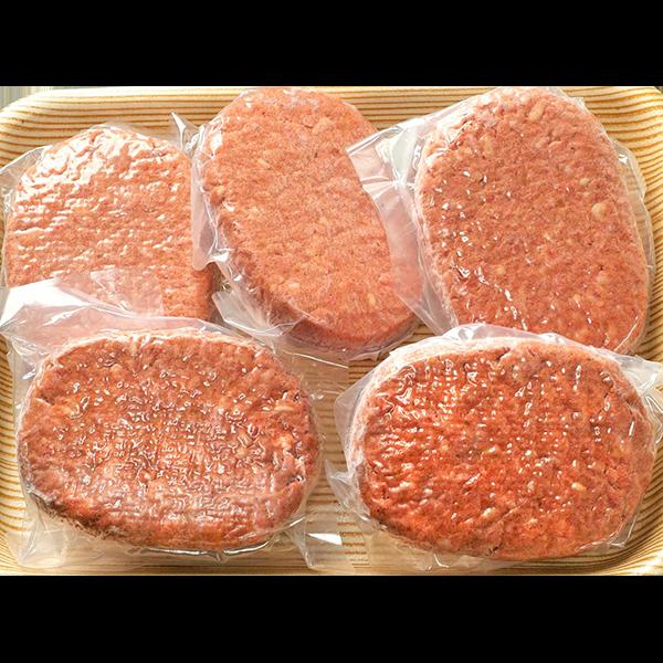 オガタ牧場牛冷凍生ハンバーグ150g×5