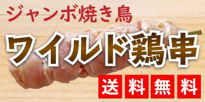 ジャンボ焼き鳥 ワイルド鶏串